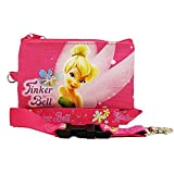 Disney Fairies Tinker Bell (PINK) Lanyards with Detachable Coin Purse