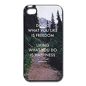 IPhone 4/4s Cases Do What Like Freedom Design Hard Back Cover Cases Desgined By RRG2G