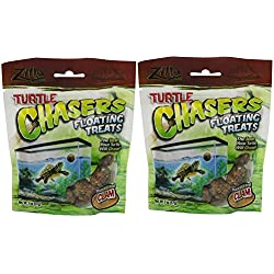 Zilla Reptile Food Turtle Chasers Treats, Clam Flavor, 4-Ounce