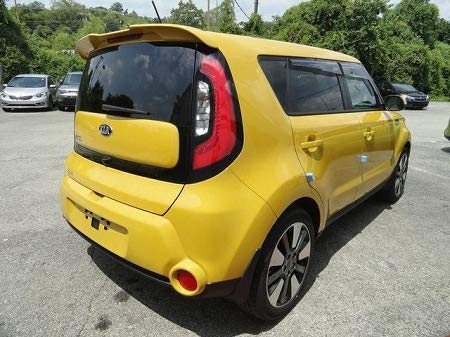 Accent Spoilers-Spoiler for a Kia Soul Factory Style Spoiler 2014-2019-Kale Green Pearl Paint Code: AEB