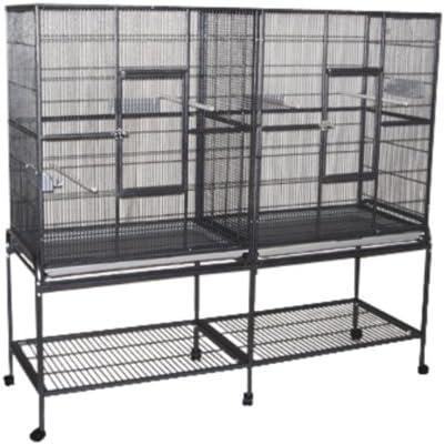 Zoo-Shop Doppel Voliere Birdiemaxx 164x54x156cm