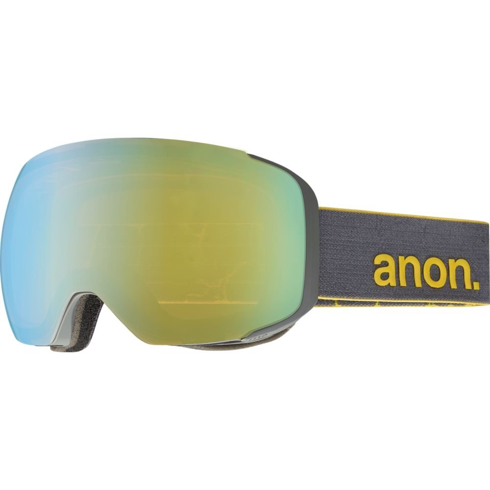 55774ec9dff5 Amazon.com   Anon M2 Snow Goggles Gray With Gold Chrome   Blue Lagoon Lens    Sports   Outdoors