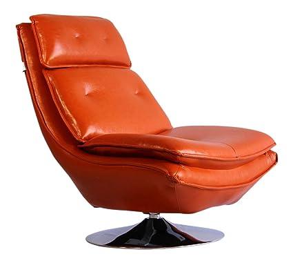 Outstanding Amazon Com Pasargad Dc Modern Turin Swivel Lounge Leather Machost Co Dining Chair Design Ideas Machostcouk
