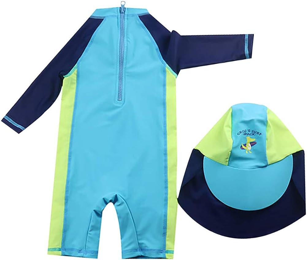 LPATTERN Baby//Kinder Bojen-Badeanzug Jungen//M/ädchen Einteiler Badeanzug Schwimmanzug Bademode mit entnehmbar Polster