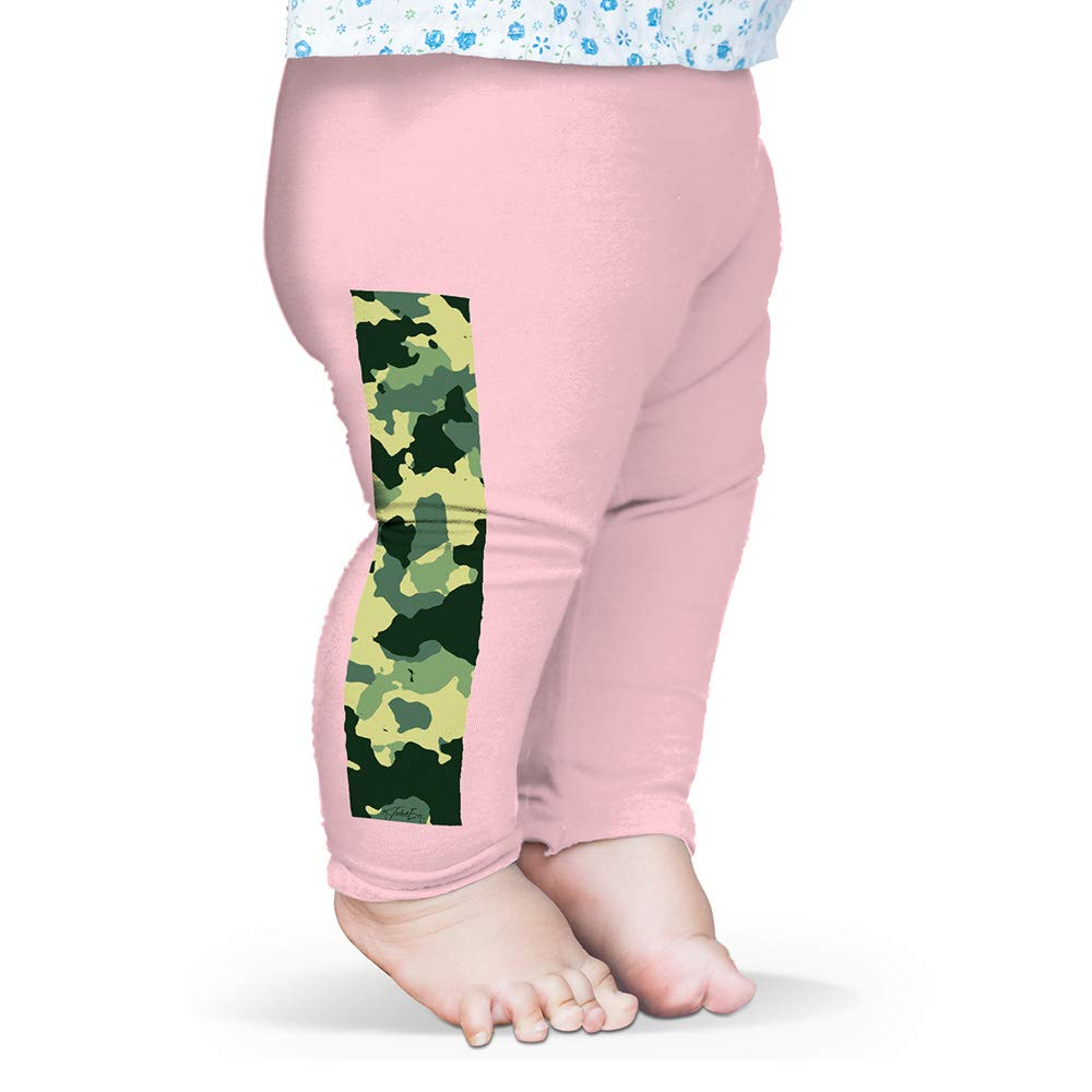 Twisted Envy Green Camouflage Baby Novelty Leggings