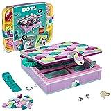 LEGO Set artístico de decoración y manualidad para niñas Dots 41915 Alhajero (374 Piezas)
