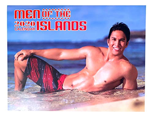2020 Hawaiian Wall Calendar 12 Month (Men of The Islands)