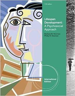 Book Lifespan Development: A Psychosocial Approach by Barbara M. Newman (2011-03-29)
