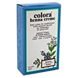 Colora Henna Creme Hair Color Brown 2oz (6 Pack)