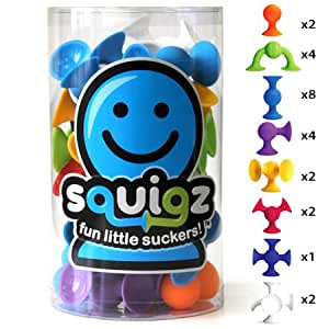 Fat Brain Toys Squigz Starter Set - 24 pc.
