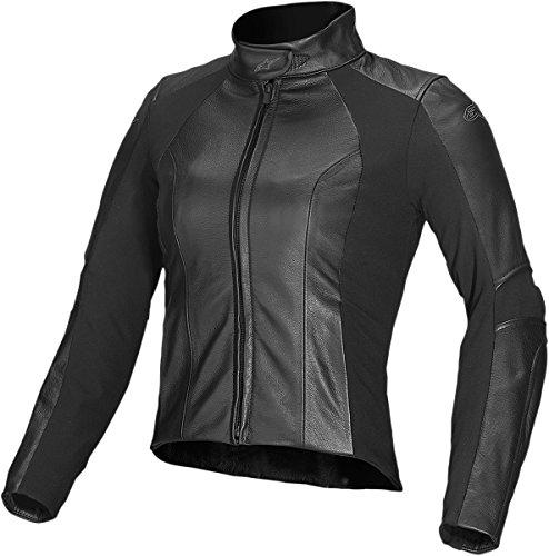 Alpinestars Stella Vika Leather Jacket Black 38 3115514-10-38