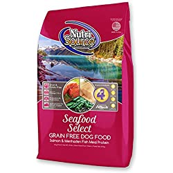 Tuffy'S Pet Food 131754 Tuffy Dog Nutrisource Select Grain Free Seafood Adult And Puppy Dog, 30-Pound