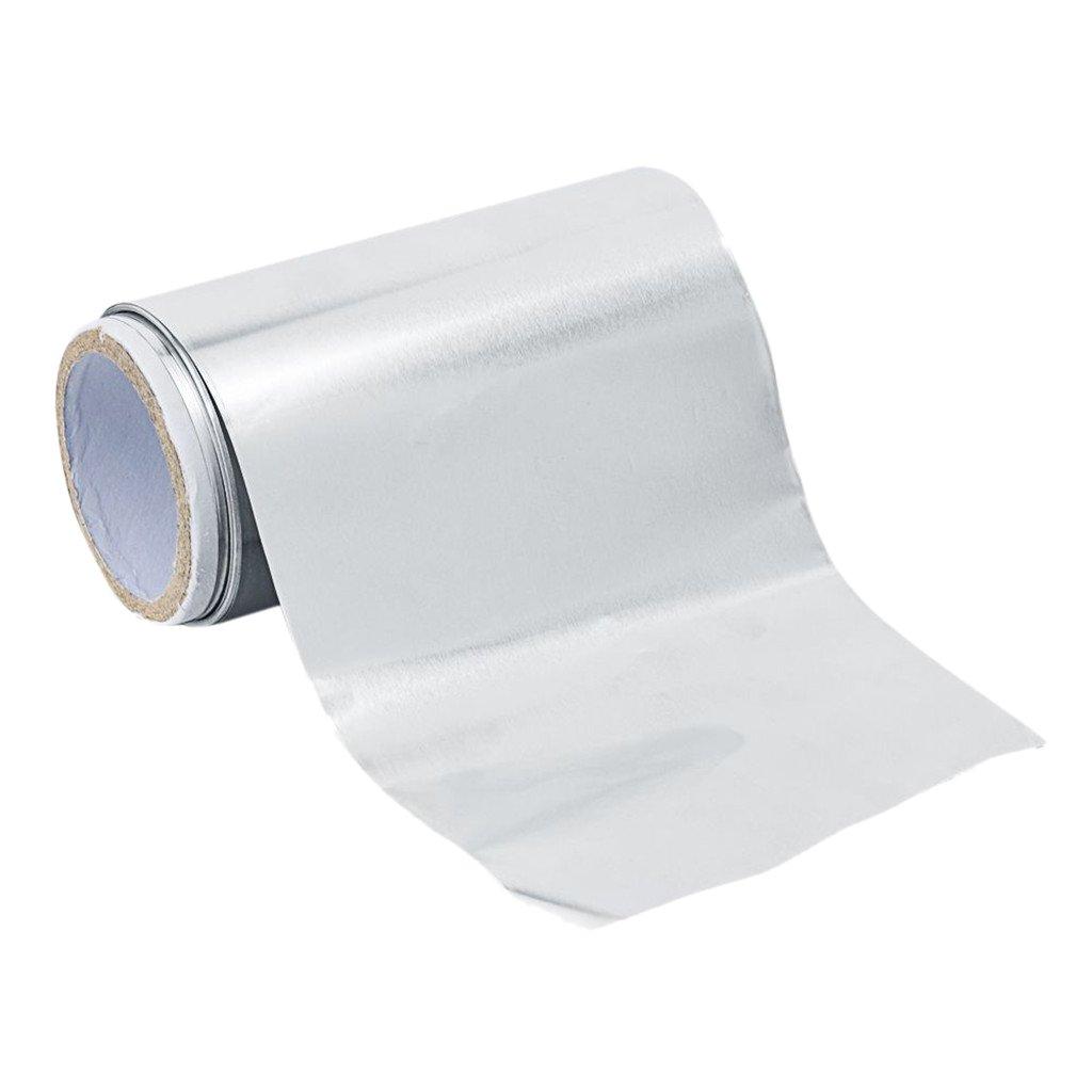 NON-Brand Hoja De Papel De Aluminio para Resaltar Y Colorear Cabello Uñas Caja