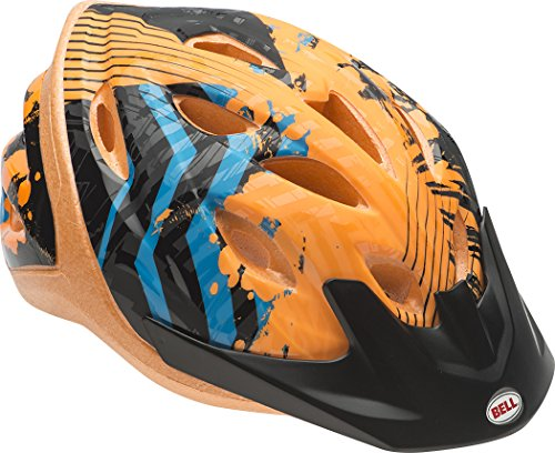 Bell-Child-Orange-Zig-Zag-Dragster-Helmet