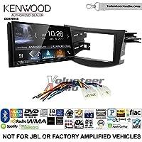 Volunteer Audio Kenwood DDX9904S Double Din Radio Install Kit with Apple CarPlay Android Auto Bluetooth Fits 2006-2012 Non Amplified Toyota RAV4