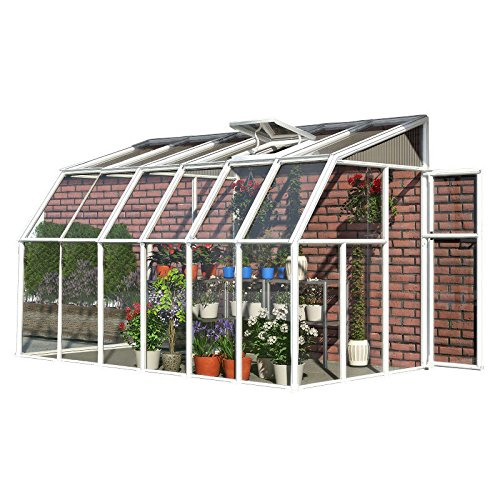 Rion Sun Room 2 Greenhouse, 6' x 12' (Rion Green)
