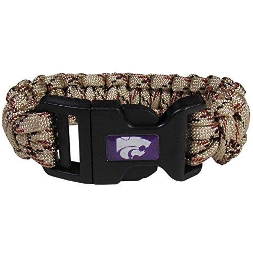NCAA Kansas State Wildcats Camo Survivor Bracelet, Tan