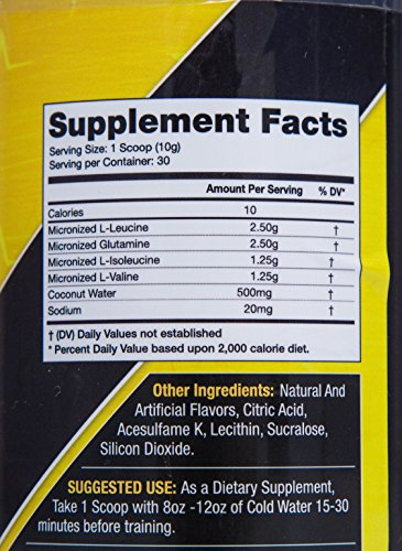 Goldstar Performance BCAA 2:1:1 Unflavored