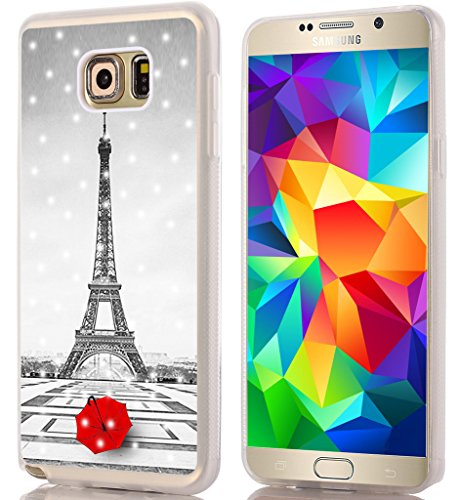 - Note 5 Case Eiffel Tower/IWONE Designer TPU Rubber Durable Compatible Cover Shockproof Replacement for Samsung Galaxy Note 5 + Get Lost in Paris Creative Romantic Eiffel Tower Design