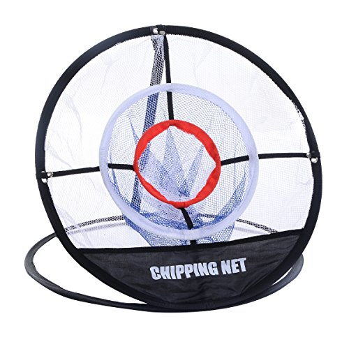 Giantex Portable 20'' Golf Training Chipping Net Hitting Aid Practice In/Outdoor Bag