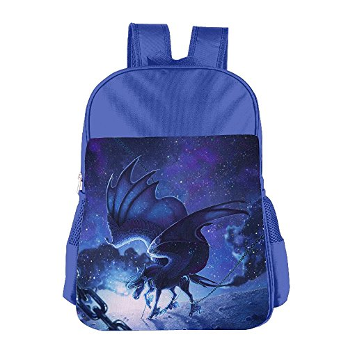 MOME CAW Chained Pegasus Unicorn Students School Bag Cute Book Bag For (Chained Handle)