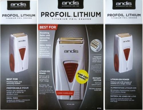 Andis Cordless Mens Shaver