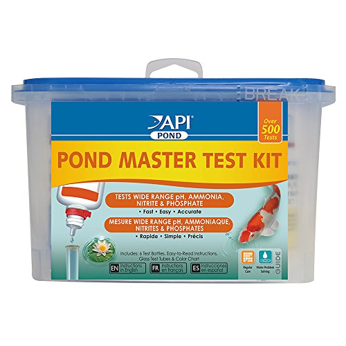 (API POND MASTER TEST KIT Pond Water Test Kit 500-Test)