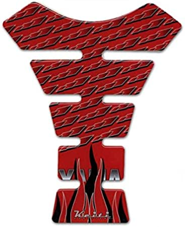 Keiti Tankpad Motorrad Tankschutz Tankprotektor Tankaufkleber Rot Yamaha