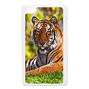 [Tony-Wilson Phone Case] FOR IPod Touch 4th -IKAI0447366-Powerful Tiger Pattern