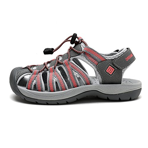 DREAM Women's Coral Outdoor New Summer Sandals W Grey Adventurous 160912 PAIRS FrygqTAF