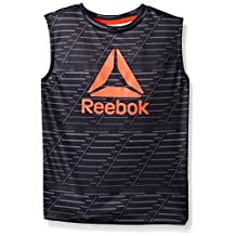 Reebok boys Graphic Print Muscle Tank