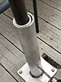 The Shady Monkey 2 in 1 Aluminum Deck Mount