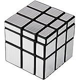 BH JP ルービックキューブ ミラーブロックス 立体パズルルービックキューブ おもちゃ 銀色