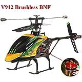Bluelover WLtoys V912 4CH bürstenlose RC Hubschrauber mit Gyro BNF