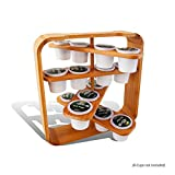 Everything Bamboo Cup holder Compatible With K-Cup