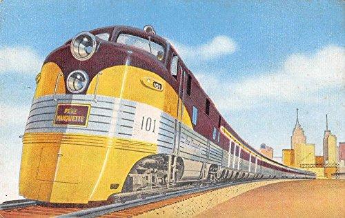 Railway Pere Marquette - Pere Marquette Railway Antique Postcard J36261