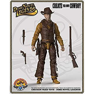 """Dime Novel Legends 1/18 Scale (4"""" Tall) Old west Action Figure Cowpuncher"""