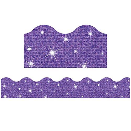 91414BN Purple Sparkle Terrific Trimmers, 32.5' per Pack, 6 Packs ()
