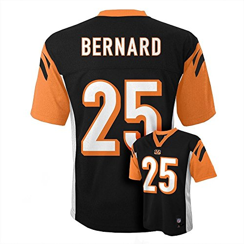 Giovani Bernard #25 Cincinnati Bengals NFL Youth Mid-tier Jersey Black (Youth Small 8)