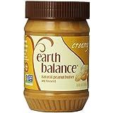Earth Balance Vegan Gluten Free Nut Butter, Creamy Peanut, 16 oz