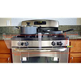 TotShield Stove Guard for Free Standing Gas and Electric Stove