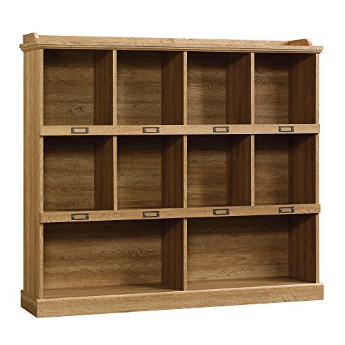 Sauder Barrister Lane Bookcase, Scribed Oak Finish by Sauder