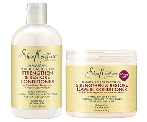 Shea Moisture Jamaican Black Castor Oil Conditioner Combinat