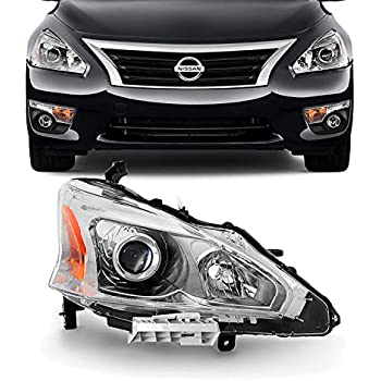 Amazon com: SPPC Projector Black Headlights Bar Style Set