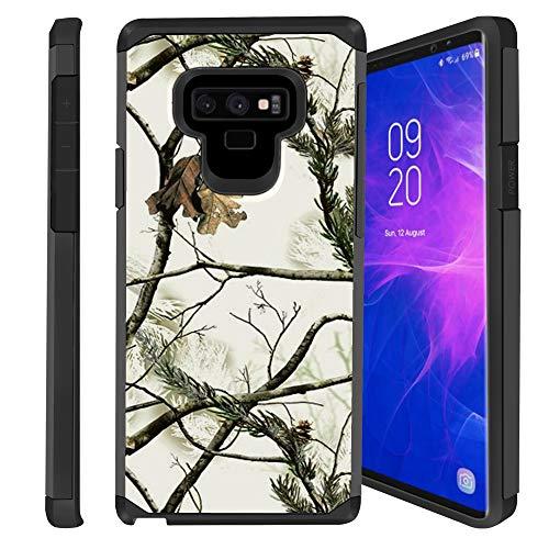 (Untouchble   Camo Case for Samsung Galaxy Note 9, Note 9 Camo Case [Shock Bumper Case] Hybrid Shell, Hard Plastic Exterior, TPU Interior Skin - Snow Camo)