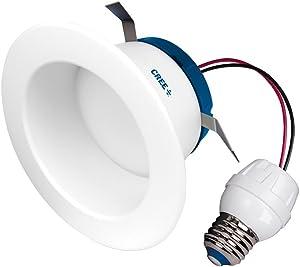 Cree SRDL4-0575000FH-12DE26-1-11 Led 4 inch Retrofit Recessed Downlight 55W Replacement Daylight (5000K),