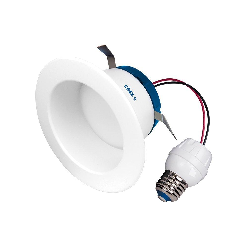 Cree SRDL4-0572700FH-12DE26-1-11 Led 4 inch Retrofit Recessed Downlight 55W Replacement Soft White (2700K),