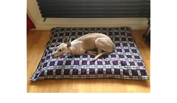 kosipet® Azul Marino Cuadros Polar Deluxe Grande Impermeable Cama Perro Cama, camas para perros, mascotas, dogbed dogbeds, petbed, petbeds,: Amazon.es: ...