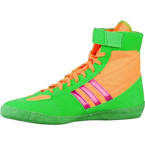 Adidas Worstelen Herengevecht Snelheid 4 Worstelen Schoen Zonne Goud / Zonne-kalk / Metallic Roze