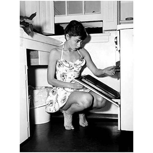 Audrey Hepburn Dress My Fair Lady (Audrey Hepburn 8 x 10 Photo My Fair Lady Funny Face Sabrina Breakfast at Tiffany's Checking the Oven in Mini Dress kn)